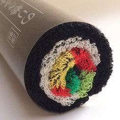Norimaki Sushi Roll Towel - Futomaki 34cm