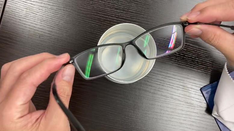 LIQUID_hack Anti Fog Eyeglass Lens Cleaning cloth