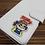 Thumbnail: Fujiya Peko embroidery sticker