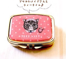 NEKO WORK Accessory case cat - Maid