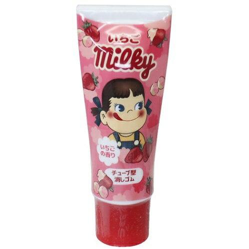 Fujiya Peko Lipstick eraser - strawberry