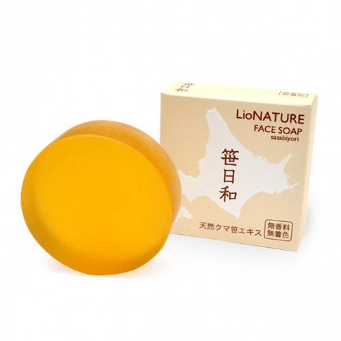 LioNATURE Face soap sasabiyori 70g