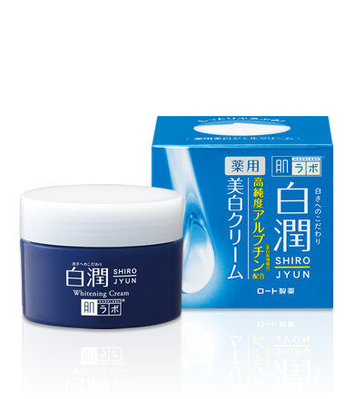 HADA LABO Shirojyun Arbutin Whitening Cream