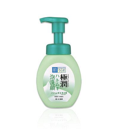 HADA LABO Gokujyun Hatomugi Cleansing Foam