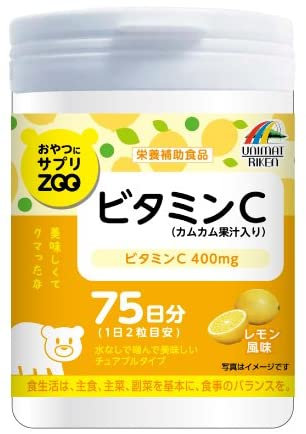 Supplement ZOO Series For Snacks Vitamin C 150T