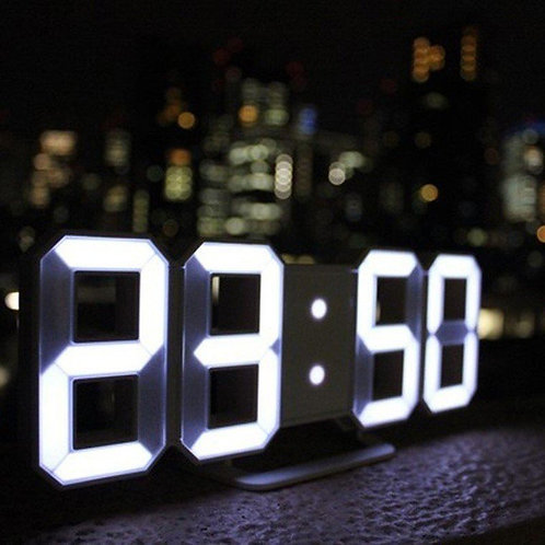 JPT TriClock LED 3color 3D Digital clock