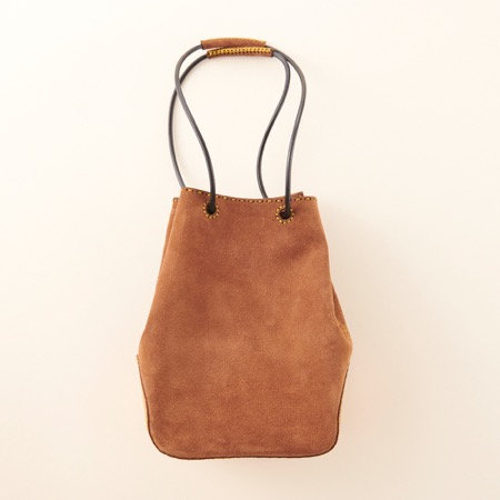 Ojaga Design ISONOE mini bag - Light Brown