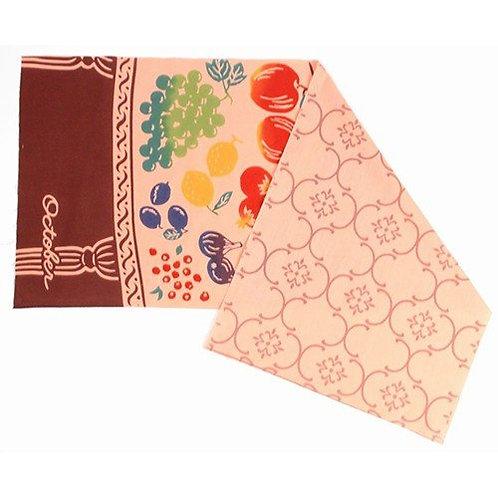 DENTRA Japanese hand towel - October Harvest Festival
