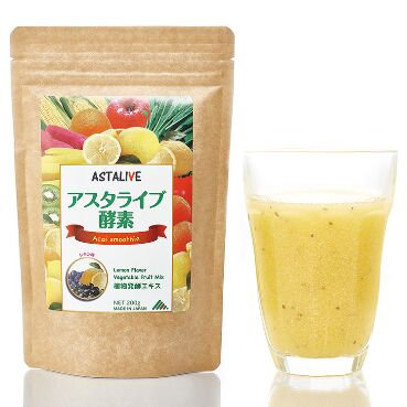 ASTALIVE Acai smoothie Lemon Flavor Vegetables Fruit Mix