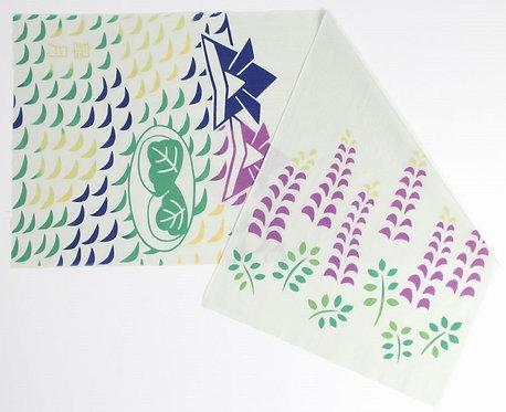 DENTRA Japanese hand towel - May paper Samurai helmet