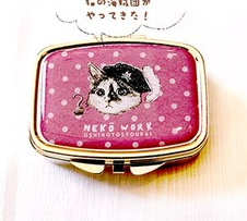 NEKO WORK Accessory case cat - Pirate