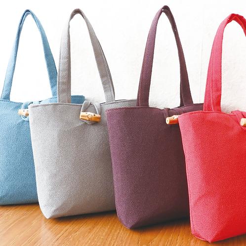 DENTRA Japanese traditional fabric mini tote bag - Tango