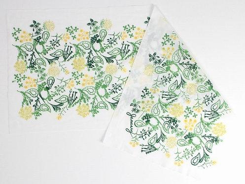 DENTRA Japanese hand towel - January Springs'Seven herbs