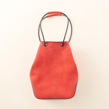 Ojaga Design ISONOE mini bag - Orange red
