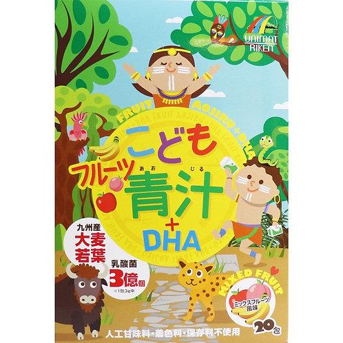 Fruit Aojiru + DHA For Kids 20 Sticks