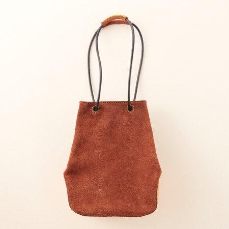 Ojaga Design ISONOE mini bag - Dark Brown