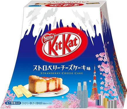 Kit Kat Strawberry Cheese cake (9 mini bar)