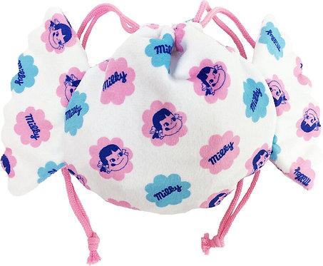 Fujiya Peko Drawstring bag 16cm - Sweet