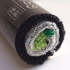 Norimaki Sushi Roll Towel - Cucumber roll 25cm