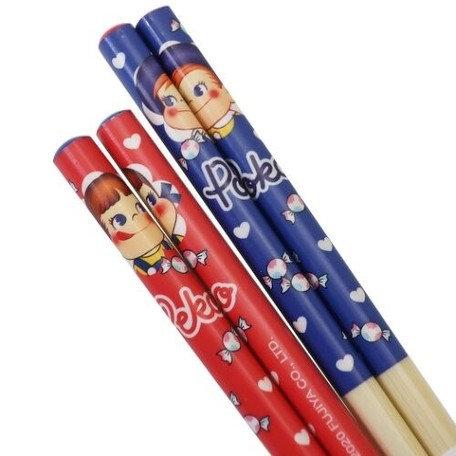 Fujiya Peko Bamboo chopsticks 2 set