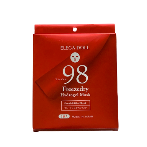 ELEGA DOLL Fresh98 Freezedry Hydrogel Mask
