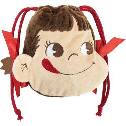 Fujiya Peko Drawstring bag 16cm