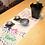 Thumbnail: DENTRA Japanese hand towel - May paper Samurai helmet
