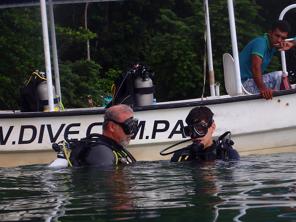 Open Water Diver Course to young kid