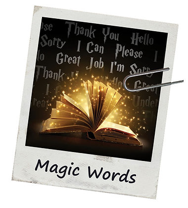 Magic Words - File Folders 20 Pack