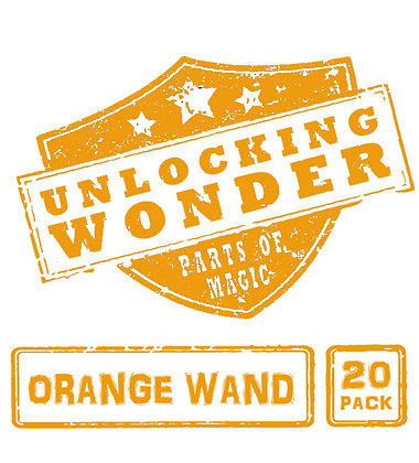 Orange Wand 20 Pack