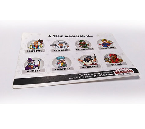 8 Trait Stickers (200 Pack)