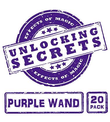 Purple Wand 20 Pack