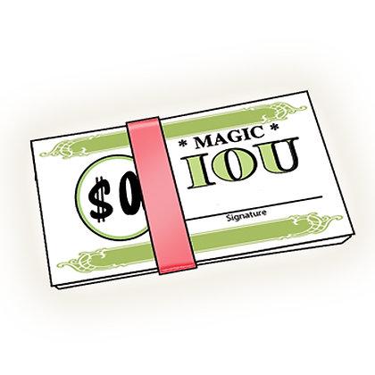 Magic IOU