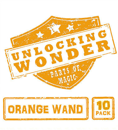 Orange Wand 10 Pack