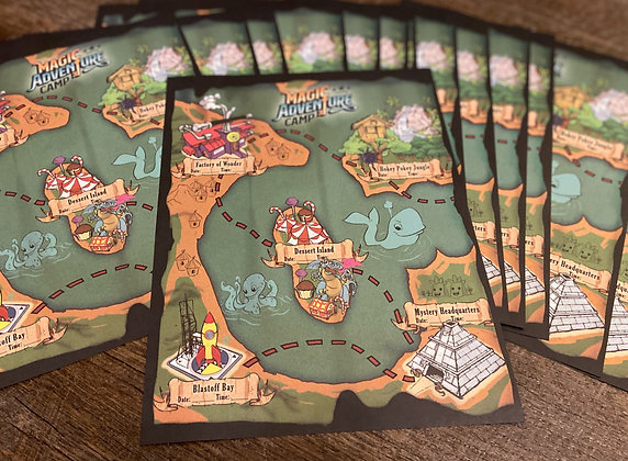 Adventure Map - 40 pack