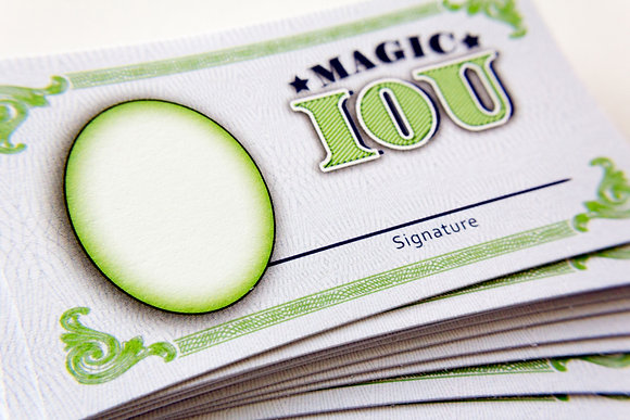 Magic IOU refill pack (100)