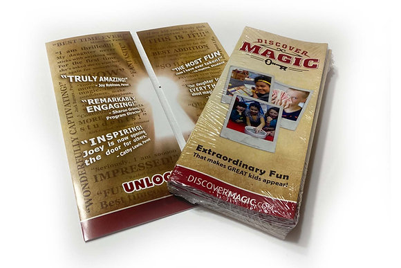 New Discover Magic Brochures (200 Pack)
