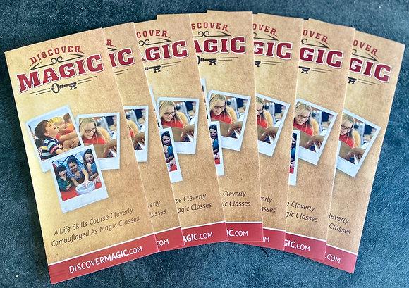 Discover Magic Brochure 50 pack