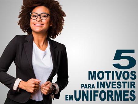 5 Motivos para investir em uniformes na empresa.