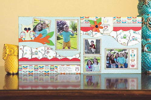 Owl-Dorable Two Page Layout 9:00am - 10:30am