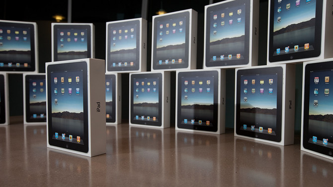 Teacher iPads in the Classroom