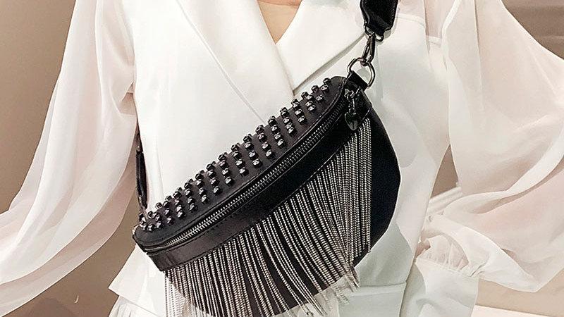 Studded Waist Bag