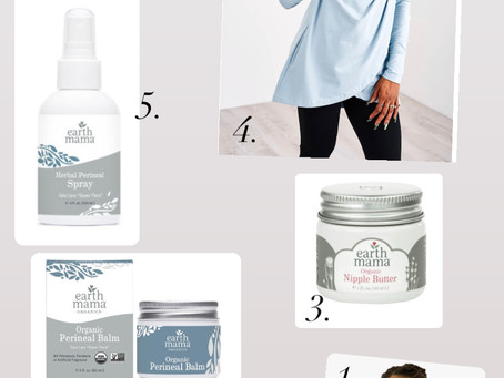 My Postpartum Product Recommendations