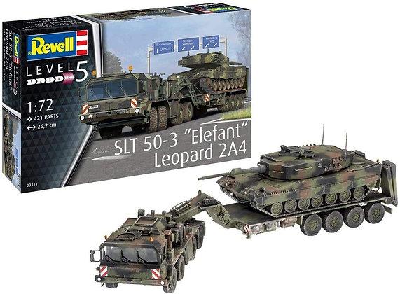 Revell SLT 50-3 ''Elefant'' + Leopard 2A4
