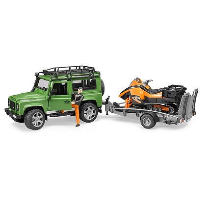 Bruder Land Rover Arazi Aracı Ve Kar Aracı