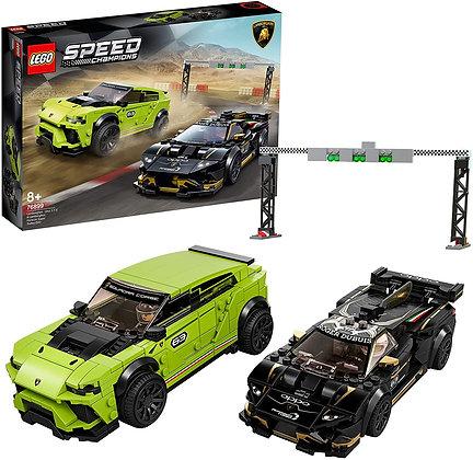 LEGO® Lamborghini Urus St X & Lamborghini Huracán Super Trofeo Evo