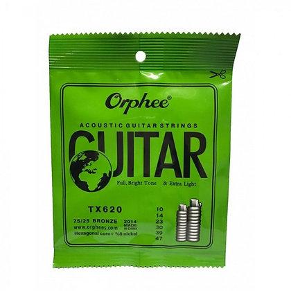 Orphee Extra Light Akustik Gitar Teli