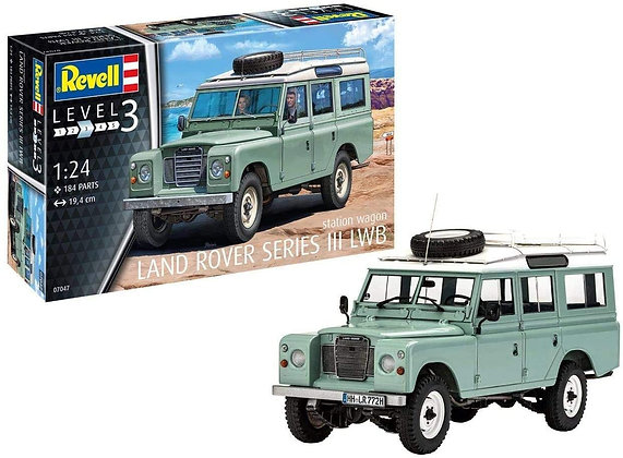 Revell Land Rover Series III LWB Station