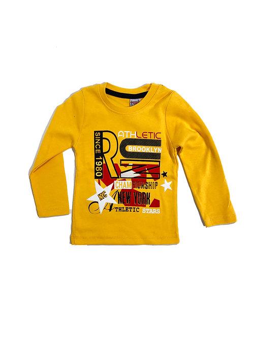 Brooklyn shirt geel