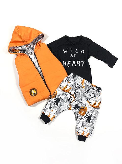 Wild at heart oranje